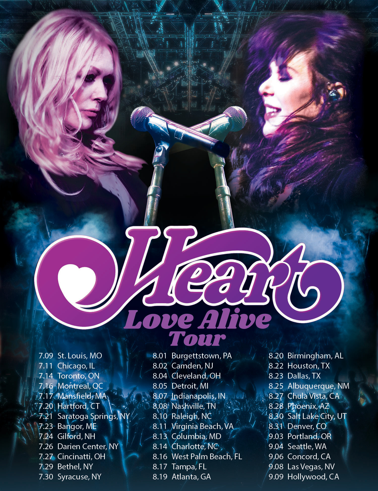 Heart Love Alive Tour 2019